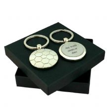 Personalised Football Keyring with Engraving